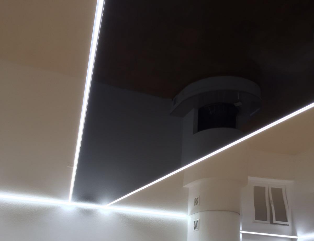 Lampe LED Streifen Spanndecke