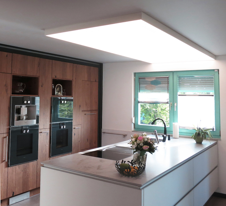 CILING Lichtmodul Küche mit Spanndecke