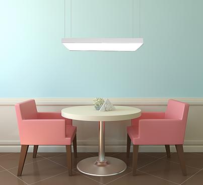 CILING Lichtmodul Restaurant mit Spanndecke